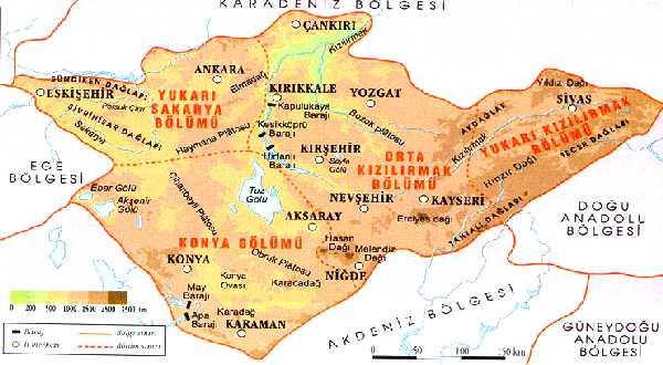 İç Anadolu Bölgesinin En'leri