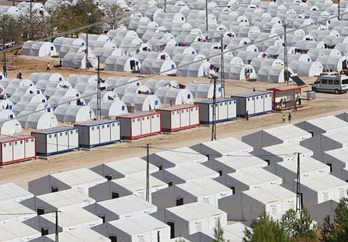 suriye mülteci kampı