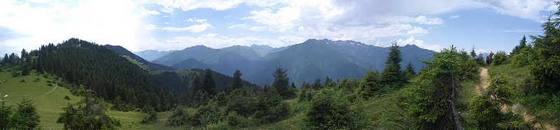 Dağların  Türkiye'deki  Coğrafi Dağılışı