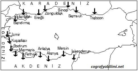 turkiye-limanlar-haritasi