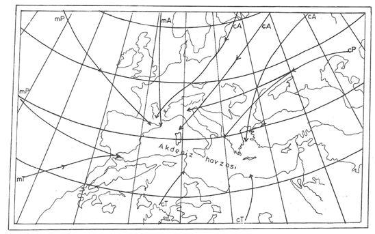 Kış Mevsiminde Akdenizi Etkileyen Hava Kütleleri