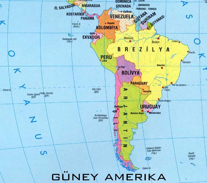 Arjantinin coğrafi konumu, doğal özellikleri ve ülkenin ekonomisi